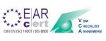 Gütesiegel EAR Certificate VCA